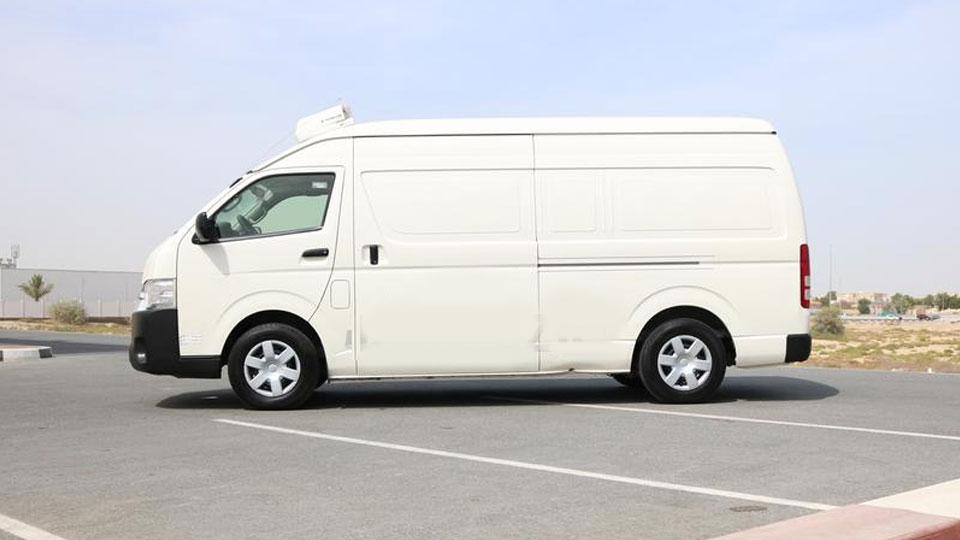 Freezer Rental Van