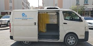 Chiller Van in Dubai from fast and cool
